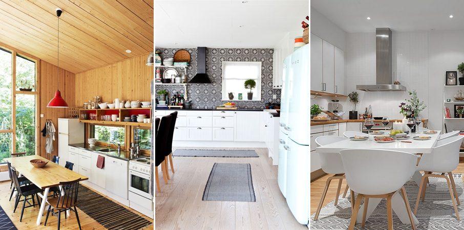 Alfombras para interiores escandinavos - Alfombra de cocina ...