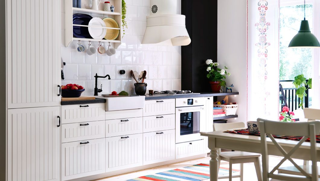 Decoraci n n rdica con muebles ikea for Catalogo cocinas baratas