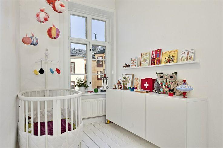 Decoraci n habitaciones de beb s de estilo n rdico - Habitaciones estilo nordico ...