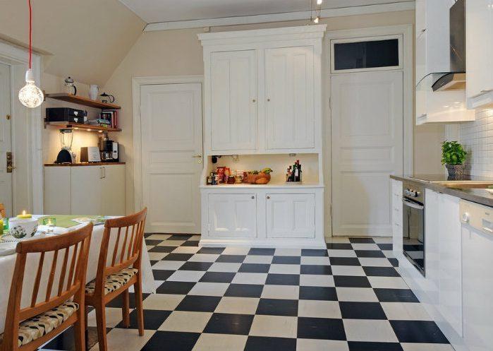 Suelos para cocinas modernas simple los mejores suelos - Suelos para cocinas blancas ...